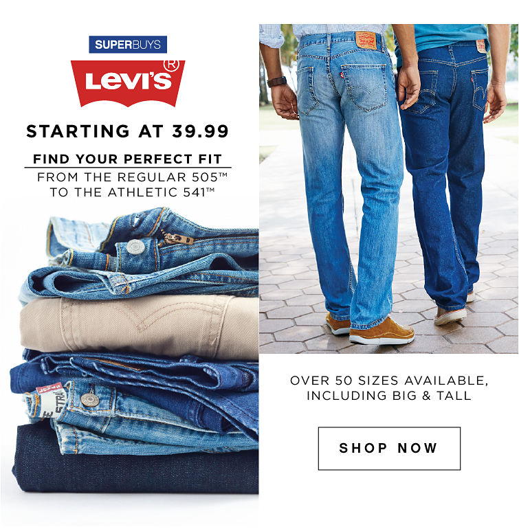SuperBuys Levi Starting at 39.99 | Shop Now