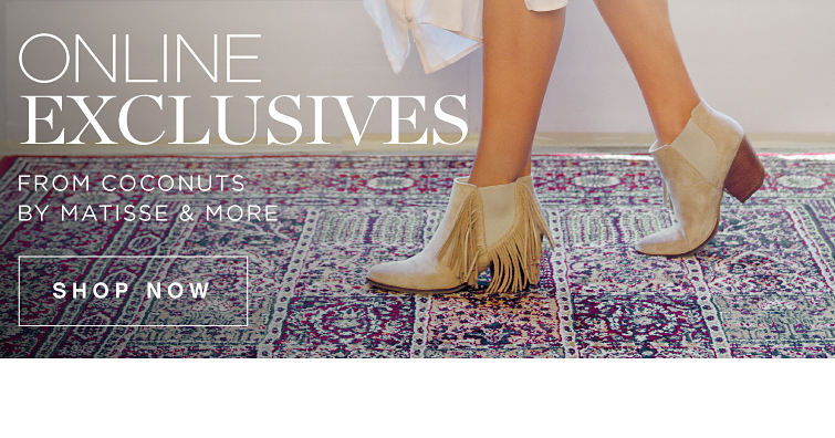 Online Exclusives From Coconuts By Matisse & More | Shop Now