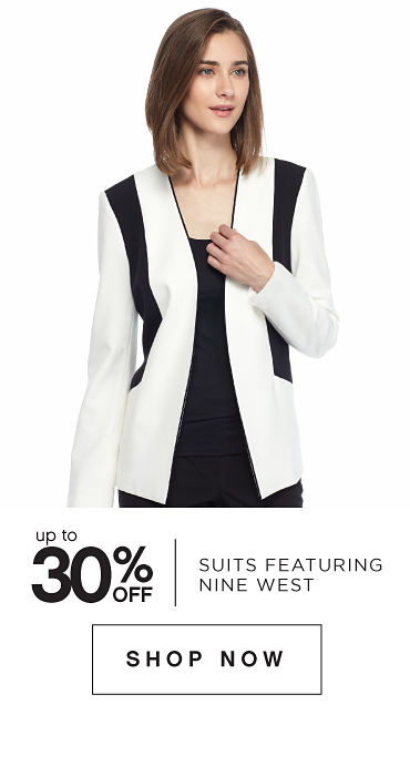 Up to 30% off Suits featuring Nine West - Shop Now