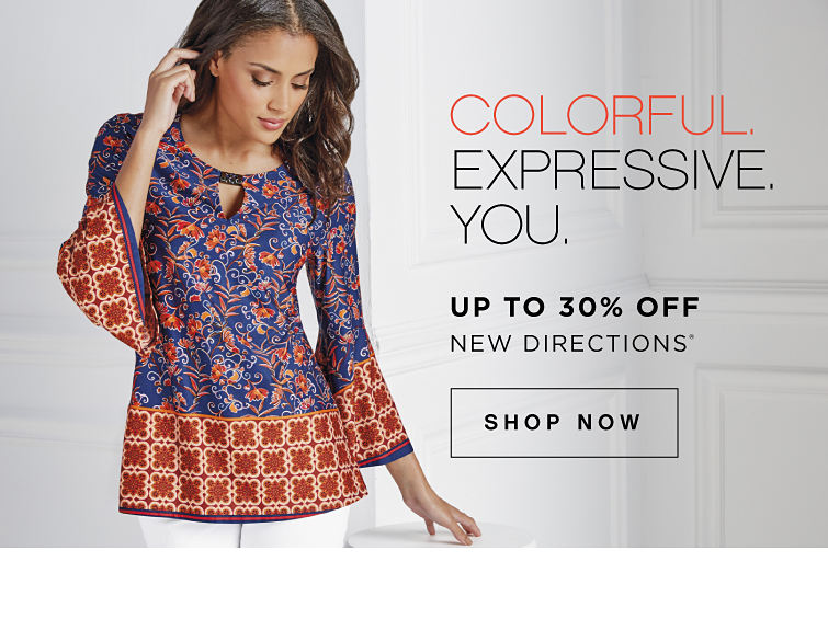 Colorful. Expressive. You. | Up to 30% off New Directions® - Shop Now