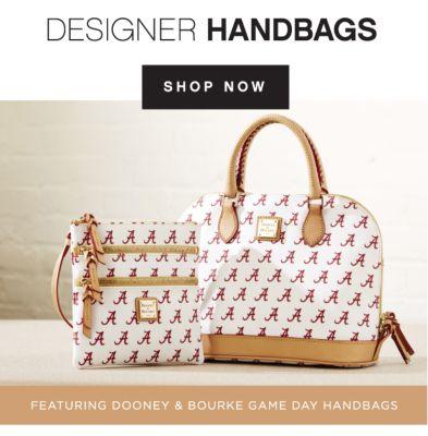 DESIGNER HANDBAGS | SHOP NOW | FEATURING DOONEY & BOURKE GAME DAY HANDBAGS