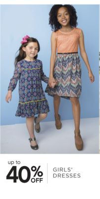 up to 40% OFF GIRLS' DRESSES