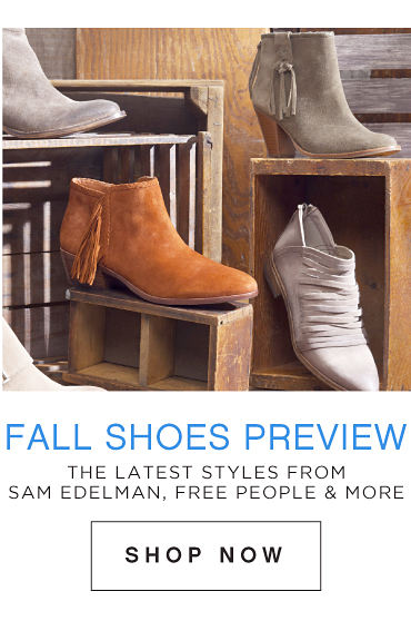 Fall Shoes Preview | The Latest Styles From Sam Edelman, Free People & More | Shop Now