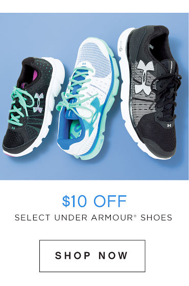 10$ Off Select Under Armour Shoes | Shop Now
