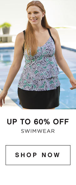 Up to 60% off Swimwear - Shop Now