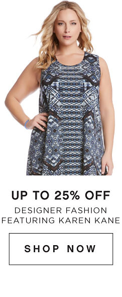 Up to 25% off Designer Fashion featuring Karen Kane - Shop Now