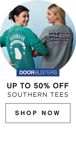 DOORBUSTERS - Up to 50% off Southern Tees | shop now