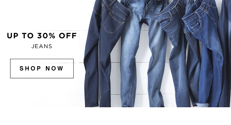 Up To 30% off Jeans | shop now