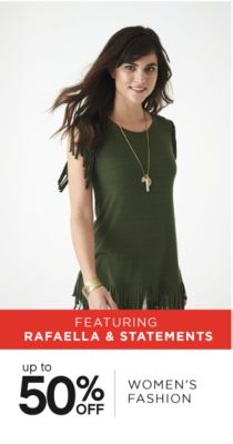 FEATURING RAFAELLA & STATEMENTS | UP TO 50% OFF WOMEN'S FASHION