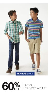 BONUSBUYS | 60% OFF BOYS' SPORTSWEAR