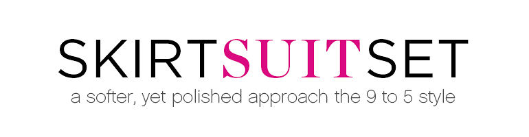 SKIRT SUITS SET | a softer, yet polished approach the 9 to 5 style
