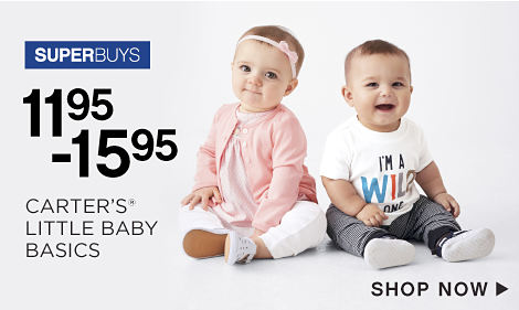 SuperBuys - 11.95-15.95 Carter's® Little Baby Basics - Shop Now