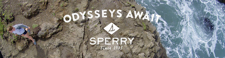 Odysseys Await | Sperry | Since 1935