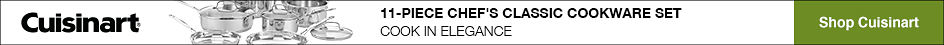 Cuisinart® | 11-PIECE CHEF'S CLASSIC COOKWARE SET | COOK IN ELEGANCE | Shop Cuisinart