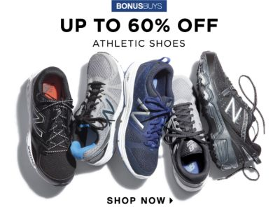 BONUSBUYS | UP TO 60% OFF ATHLETIC SHOES | SHOP NOW