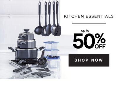 KITCHEN ESSENTIALS | up to 50% OFF SHOP NOW