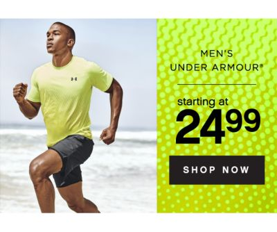 MEN'S UNDER ARMOUR® starting at 24.99 | SHOP NOW