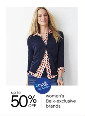 womens belk exclusive brands