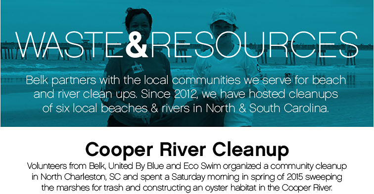 Waste & Resource Cooper River Cleanup
