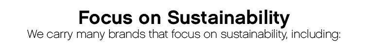 Focus on Sustainability