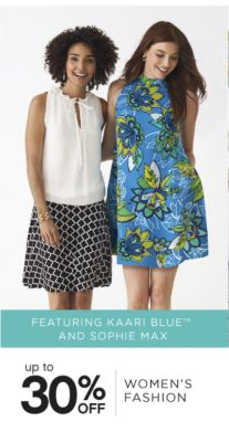 FEATURING KAARI BLUE™ AND SOPHIE MAX | up to 30% OFF WOMEN'S FASHION