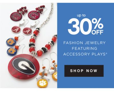 up to 30% OFF FASHION JEWELRY FEATURING ACCESSORY PLAYS® | SHOP NOW