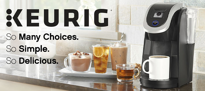 Keurig | So many Choises. | So Simple. | So Delicious.