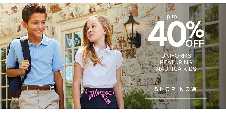 Up to 40% Uniforms featuring nautica kids. Shop now