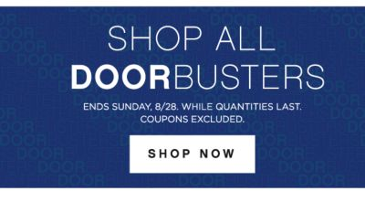 SHOP ALL DOORBUSTERS