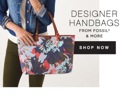 DESIGNER HANDBAGS FROM FOSSIL® & MORE | SHOP NOW