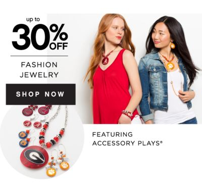 up to 30% OFF FASHION JEWELRY | SHOP NOW | FEATURING ACCESSORY PLAY®