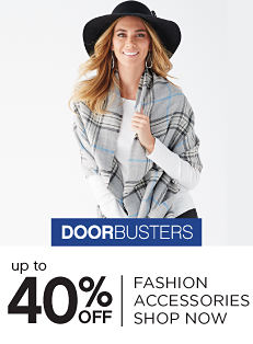 Doorbusters - Up to 40% off Fashion Accessories - Shop Now