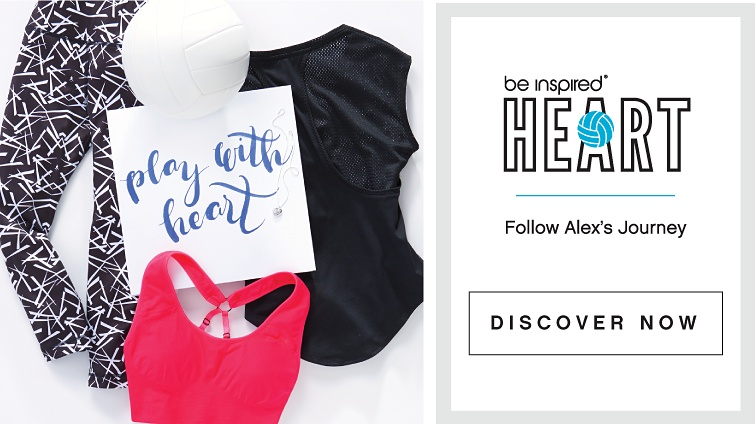 Be Inspired - Heart - Follow Alex's Journey - Discover Now
