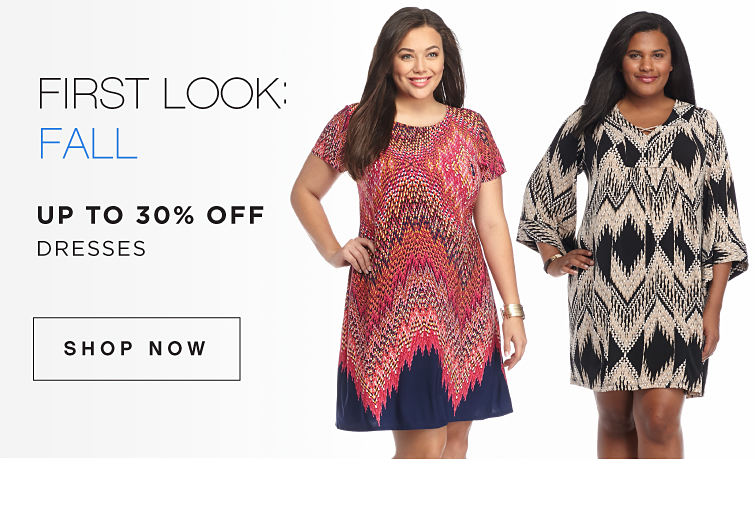 First Look: Fall - Up to 30% Off Dresses - Shop Now