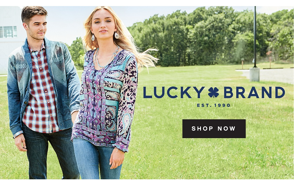 Lucky Brand | EST.1990 | Shop Now