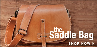 The Saddle Bag - Shop Now