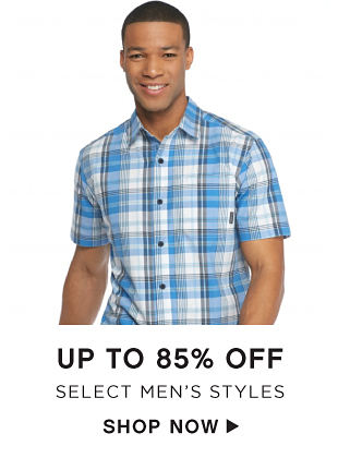 Up to 85% off Select Men's Styles - Shop Now