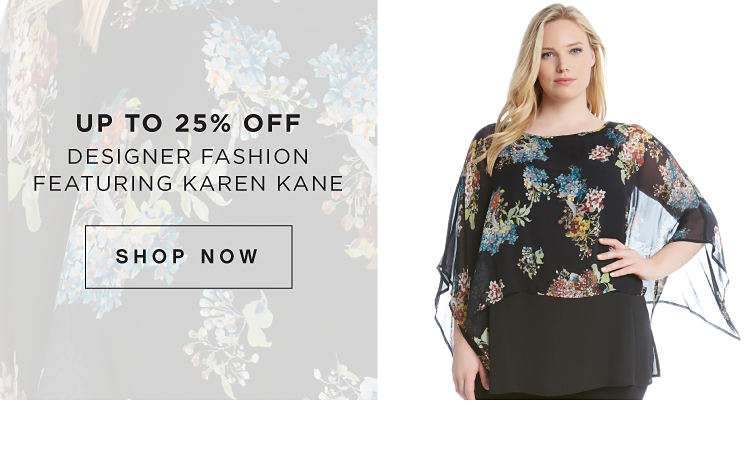 Up to 25% Off - Designer Fashion Featuring Karen Kane - Shop Now