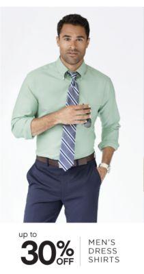 up to 30% OFF MEN'S DRESS SHIRTS