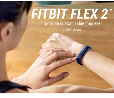FitBit Flex 2 - Now More Customizable Than Ever - Shop Now