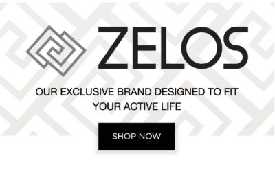 Zelos - Our Exclusive Brand Designed To Fit Your Active Life - Shop Now