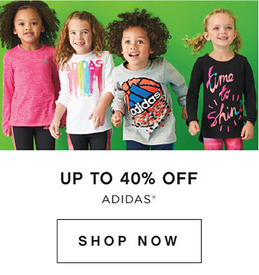 Up to 40 percent off Adidas. Shop Now.