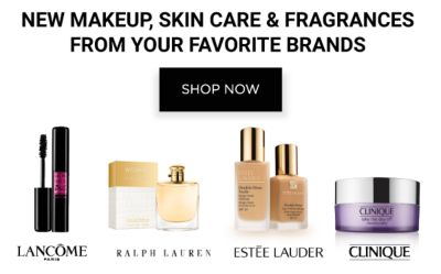 New makeup, skin care & fragrance from your favorite brands. Shop Now.