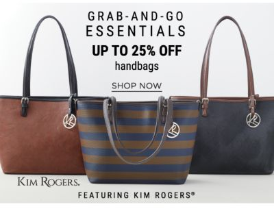 Grab-And-Go Essentials - Up to 25% off Handbafs featuring Kim Rogers - Shop Now