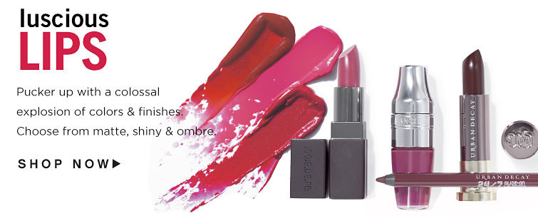 Luscious Lips. Pucker up with a colossal explosion of colors & finishes. Choose from matte, shiny & ombre. Shop now.