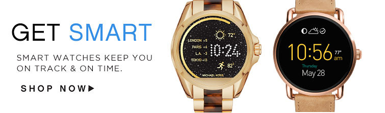 Get Smart Smart Watches Keep You on track & on time. Shop Now