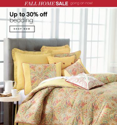 30% off bedding