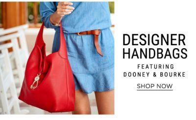 Designer Handbags, featuring Dooney & Bourke. Shop Now.