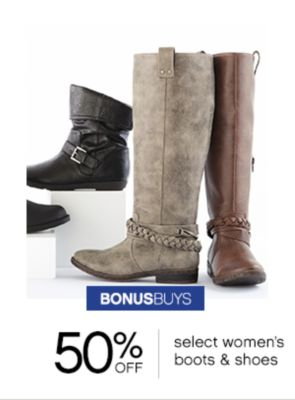 womens boots & shoes
