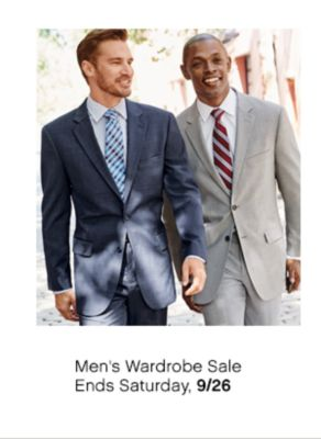 mens wardrobe sale